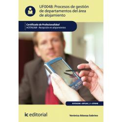 Procesos de gestión de departamentos del área de alojamiento UF0048