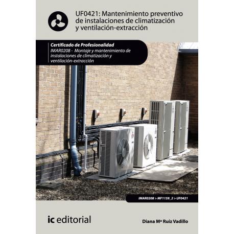 Mantenimiento preventivo de instalaciones de climatización y ventilaciónextracción