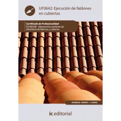 Ejecución de faldones en cubiertas UF0642