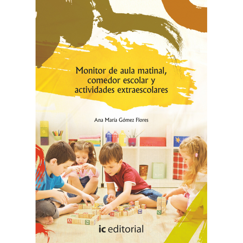 Libro de monitor de aula matinal comedor escolar y for Monitor comedor escolar
