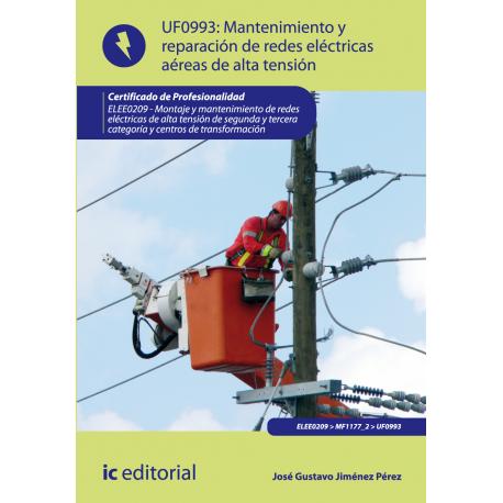 Mantenimiento de redes eléctricas aéreas de alta tensión UF0993