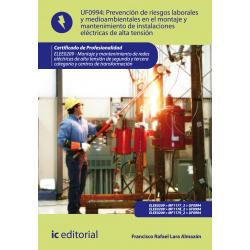 PRL y medioambientales en el montaje y  mant. de inst. eléctricas en AT UF0994