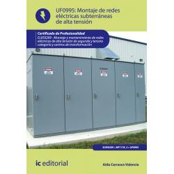 Montaje de redes eléctricas subterráneas de alta tensión UF0995