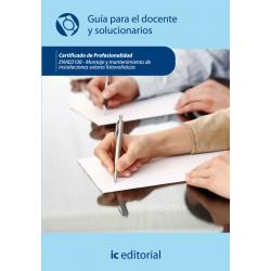 Guía para el docente y solucionarios. ENAE0108