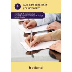 Guía para el docente y solucionarios. ELEE010