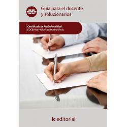 Guía para el docente y solucionarios. Fábricas de albañilería. EOCB0108