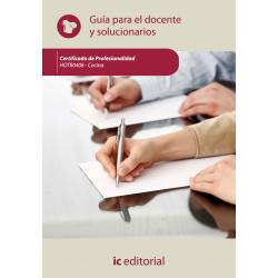 Guía para el docente y solucionarios.HOTR0408