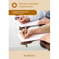 Guía para el docente y solucionarios. Repostería. HOTR0509
