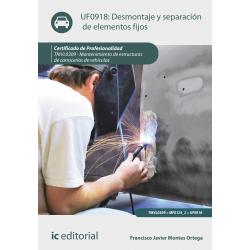 Desmontaje y separación de elementos fijos UF0918