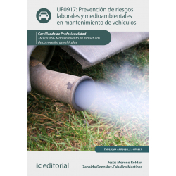 Prevención de riesgos y  gestión medioambiental en  mantenimiento de  vehículosUF0917