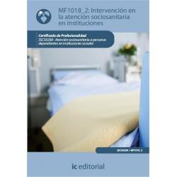 Intervención en la atención sociosanitaria en instituciones. SSCS0208