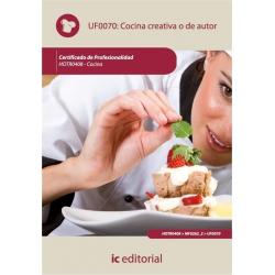 Cocina creativa o de autor. HOTR0408