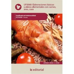Elaboraciones básicas y platos elementales con carnes, aves y caza. HOTR0408