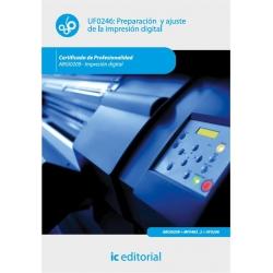 Preparación y ajuste de la impresión digital. ARGI0209