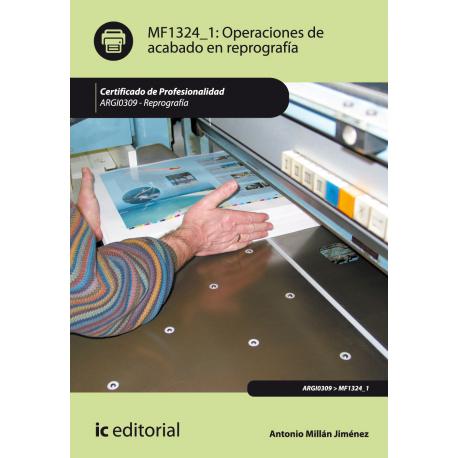 Operaciones de acabado en reprografía MF1324_1