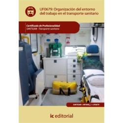 Organización del entorno de trabajo en transporte sanitario. SANT0208