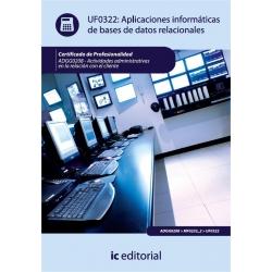 Aplicaciones informáticas de bases de datos relacionales. ADGG0208