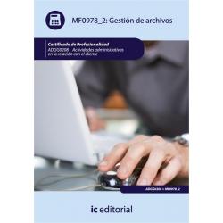 Gestión de archivos. ADGG0208