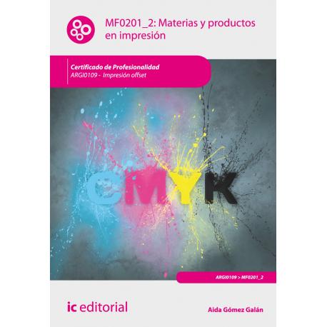 Materias y productos en impresión
