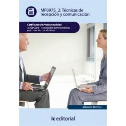 Técnicas de recepción y comunicación. ADGG0208