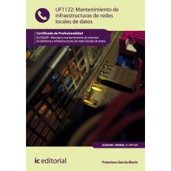 Mantenimiento de infraestructuras de redes locales de datos UF1122