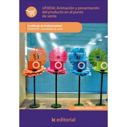 Animación y presentación del producto en el punto de venta