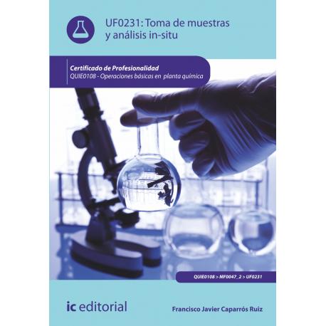 Toma de muestras y análisis in-situ UF0231