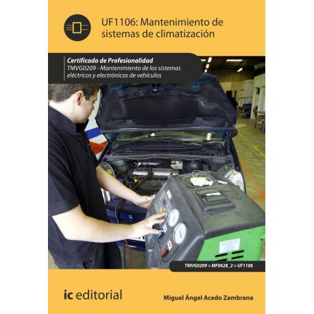 Mantenimiento de sistemas de climatización UF1106