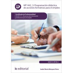 Programación didáctica de acciones formativas para el empleo MF1442_3