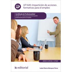 Impartición y tutorización de acciones formativas para el empleo MF1444_3