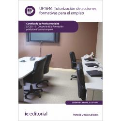 Tutorización de acciones formativas para el empleo UF1646