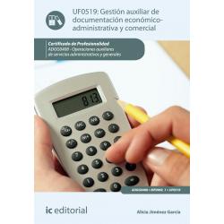 Gestión auxiliar de documentación económico-administrativa y comercial UF0519