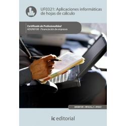 Aplicaciones informáticas de hojas de cálculo. ADGN0108