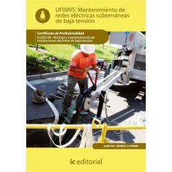 Mantenimiento de redes eléctricas subterráneas de baja tensión. ELEE0109 - Montaje y mantenimiento de instalaciones eléctricas d