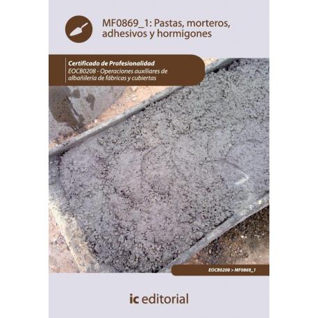 Pastas, morteros, adhesivos y hormigones. EOCB0208