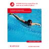 Técnicas específicas de nado en el medio acuático UF0908