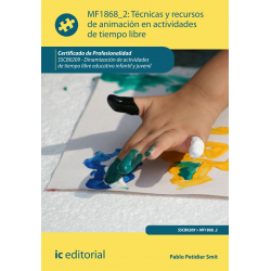 Técnicas y recursos de animación en actividades  de tiempo libre MF1868_2
