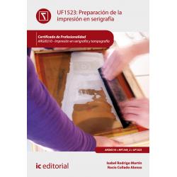 Preparación de la impresión en serigrafía UF1523