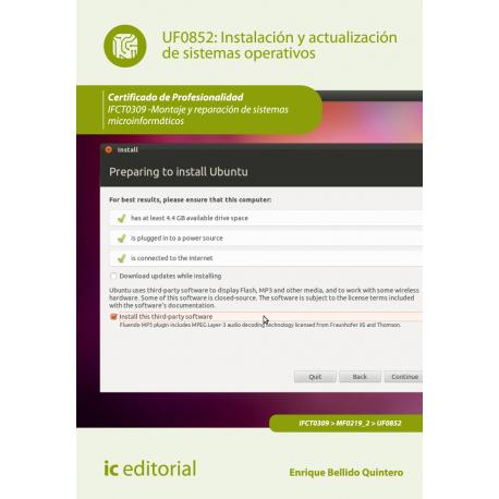 Instalación y actualización de sistemas operativos UF0852