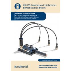 Montaje en  instalaciones domóticas en edificios UF0539