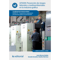Prevención de riesgos laborales y medioambientales en la industria gráfica