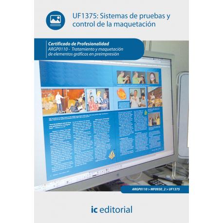 Sistemas de pruebas y control de la maquetación UF1375