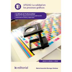La calidad en los procesos gráficos UF0242