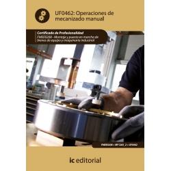 Operaciones de mecanizado manual. FMEE0208