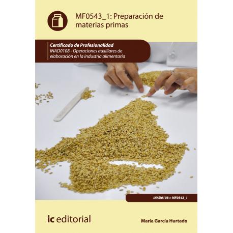 Preparación de materias primas MF0543_1: