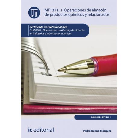 Operaciones de almacén de productos químicos y  relacionados MF1311_1