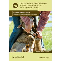Operaciones auxiliares  en el cuidado, transporte y manejo de  animales UF0158