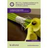 Trabajos auxiliares en la elaboración de composiciones con  flores y plantas MF1114_1