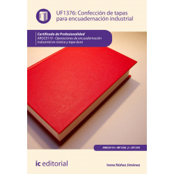 Confección de tapas para encuadernación industrial UF1376