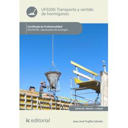 Transporte y vertido de hormigones UF0200